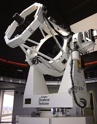 115cm経緯台式反射望遠鏡 (一般公開型天文台として日本最大級)  115cm経緯台式反射望遠